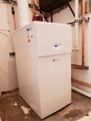 Worcester boiler in situ